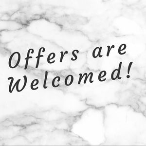 Other - Offers are welcomed!! 😊